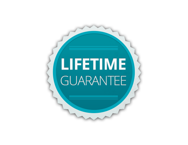 Lifetime Guarantee  on all repairs