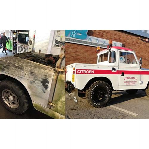 Chris Halls Land Rover Restoration